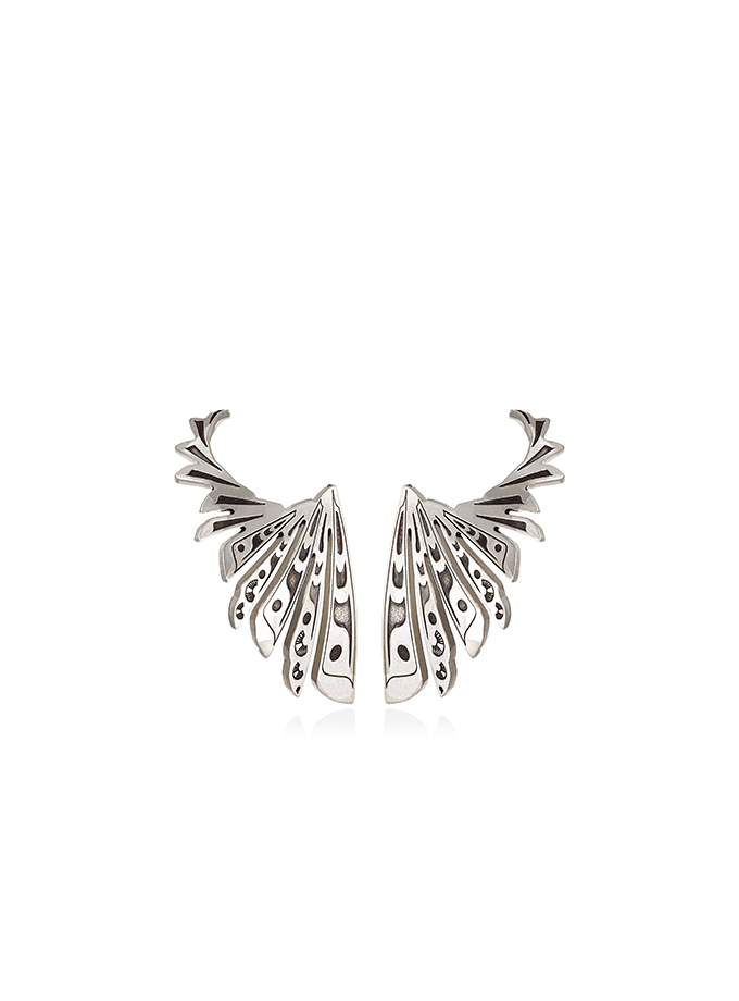 STUD/CUFF EARRINGS WING OF THE TOTEM